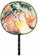 Chinese Silk Hand Fan - Chinese Beauty #58