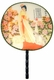 Chinese Silk Hand Fan - Princess #56