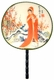 Chinese Silk Hand Fan - Princess #60