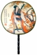 Chinese Silk Hand Fan - Princess Playing Pipa #33