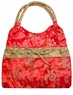 Chinese Silk Handbag - Chinese Calligraphy Symbols #126