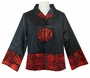 Chinese Silk Jacket - Wealth Flowers #5