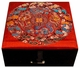 Chinese Silk Jewelry Box - Dragon #70
