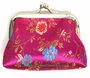 Chinese Silk Purse - Flowers #1