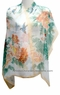 Chinese Silk Scarf - Flowers & Birds #54
