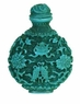 Chinese Snuff Bottle (Resin) - Flowers & Fishes #32