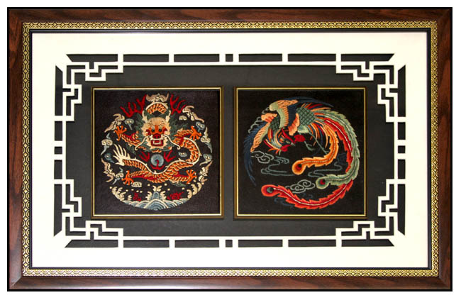 Click To Enlarge Chinese Framed Art ...