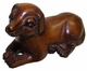 Chinese Wood Carving / Zodiac Symbol - Dog