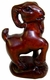 Chinese Wood Carving / Zodiac Symbol - Goat