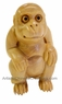 Chinese Wood Carving / Zodiac Symbol - Monkey