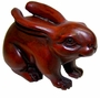 Chinese Wood Carving / Zodiac Symbol - Rabbit