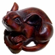 Chinese Wood Carving / Zodiac Symbol - Rat
