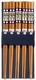 Chinese Wood Chopsticks - Dragons (5 Pairs) #4