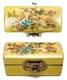 Chinese Wooden Jewelry Box - Bird & Flowers #57