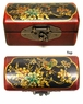 Chinese Wooden Jewelry Box - Bird & Flowers #74