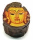 Chinese Wooden Jewelry Box - Buddha #86