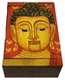 Chinese Wooden Jewelry Box - Buddha #92