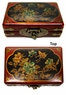 Chinese Wooden Jewelry Box -  Butterflies & Flowers #72