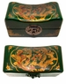Chinese Wooden Jewelry Box - Dragon & Phoenix #55