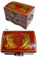 Chinese Wooden Jewelry Box - Dragon & Phoenix #58