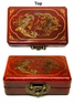 Chinese Wooden Jewelry Box - Dragon & Phoenix  #59