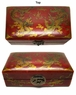 Chinese Wooden Jewelry Box - Dragon & Phoenix #71