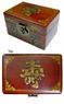 Chinese Wooden Jewelry Box - Longevity & Good Fortune Symbols #60