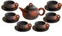 Chinese YiXing Zisha Tea Set - Bamboo & Gourd  #5