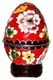 Cloisonne Egg - Flowers #15