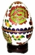 Cloisonne Egg - Flowers  #16