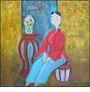 Contemporary Chinese Oil Painting - Maiden #48