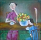 Contemporary Chinese Oil Painting - Maiden #50