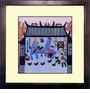 Framed Chinese Embroidery - Peaceful Life #1