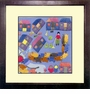 Framed Chinese Embroidery - Peaceful Life #13