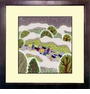 Framed Chinese Embroidery - Winter #12