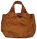 Large Chinese Silk Handbag - Flowers  #128