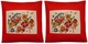 Linen Cushion Covers - Chinese Folk Art  #9 (Pair)