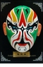 Miniature Chinese Opera Mask - Table / Wall Decor #4