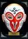 Miniature Chinese Opera Mask - Table / Wall Decor: Monkey King #7