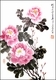 Original Chinese Brush Painting - Peonies #01