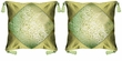 Silk Cushion Covers - Flowers (pair) #15