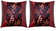 Silk Cushion Covers - Good Fortune, Wealth, Longevity, Happiness (pair)
