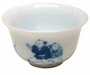 Small Chinese Porcelain Tea Cup - Children Playing #1