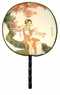 Chinese Silk Hand Fan - Maiden #64