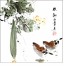 Traditional Chinese Brush Painting - Birds & Flower #107