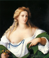 A Blonde Woman painting reproduction, Vecchio Palma