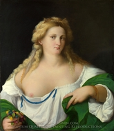 A Blonde Woman painting reproduction, Palma Vecchio