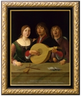 A Concert painting reproduction, Lorenzo Costa