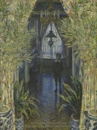 A Corner of the Apartment painting reproduction, Claude Monet