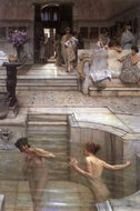 A Favourite Custom painting reproduction, Sir Lawrence Alma-Tadema